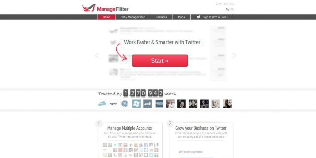 ManageFlitter is one of the many Twitter Management tools available.
