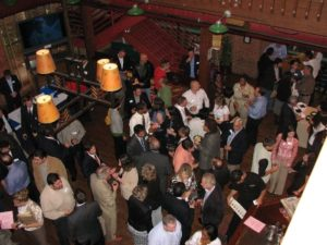 LinkedIn Cleveland Networking event at the Rock Bottom Restaurant and Brewery.