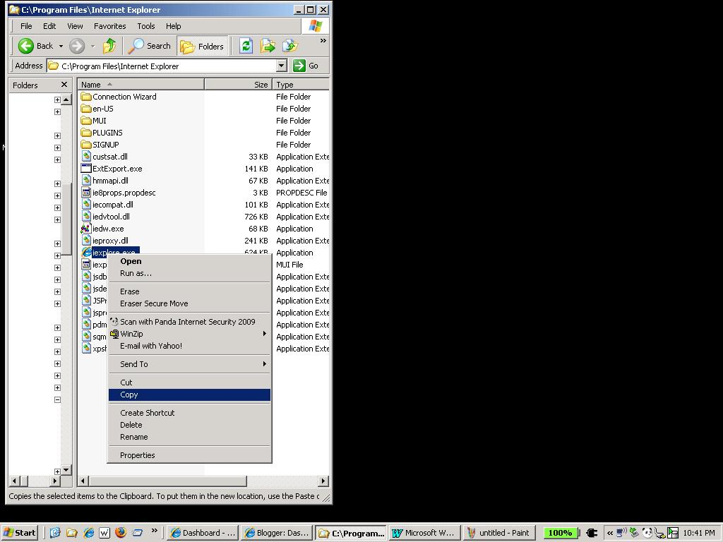 Open Multiple Gmail Accounts With IE8 - Larry Prevost