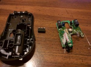 Logitech Mouse M310 Exploded
