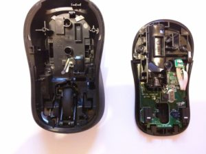Logitech Mouse M310 Opened